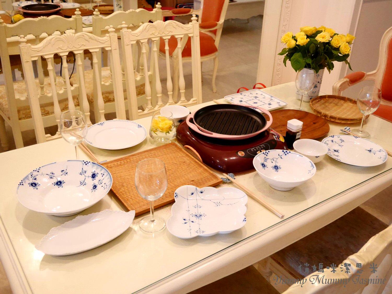 [餐桌上的幸福]喜愛的餐具品牌推薦❤戀戀皇家哥本哈根Royal Copenhagen❤在溫柔手繪的森林花草中享用美好料理