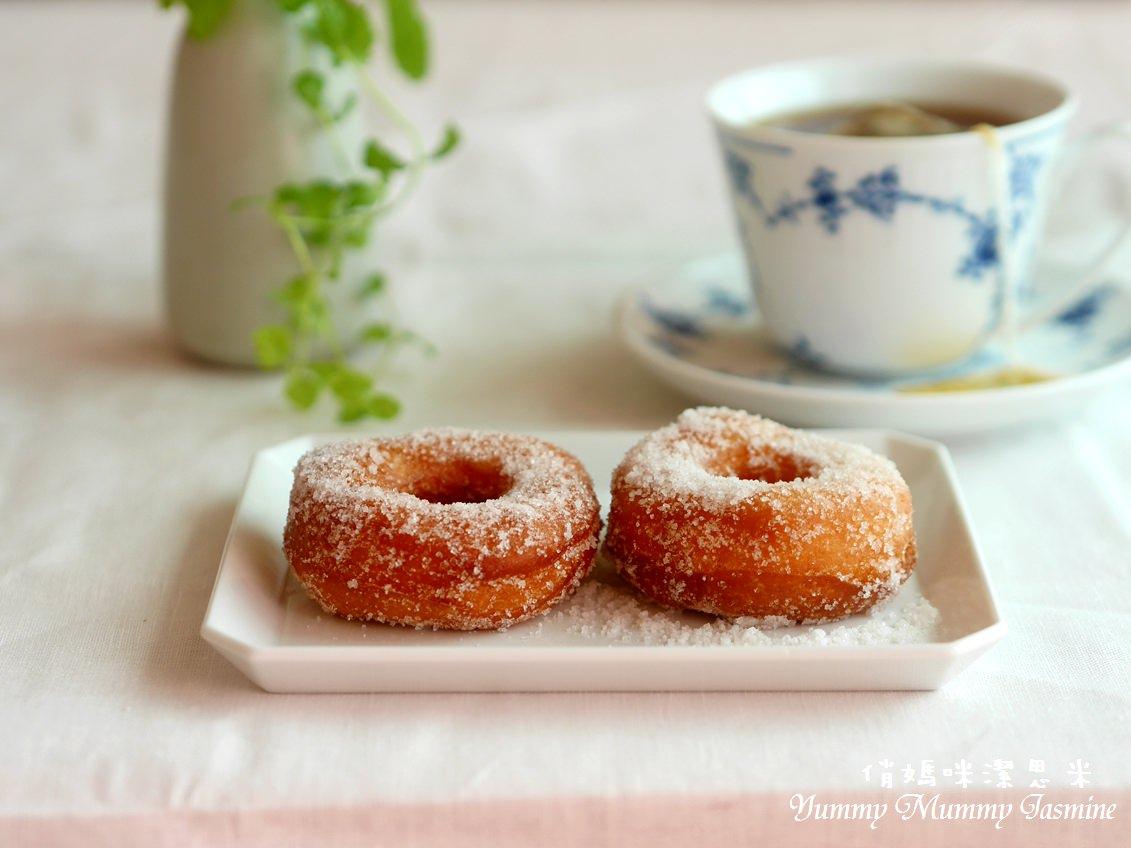 好簡單零失敗❤自己做中式甜甜圈❤過去現在心中都有著回憶的美味麵包~