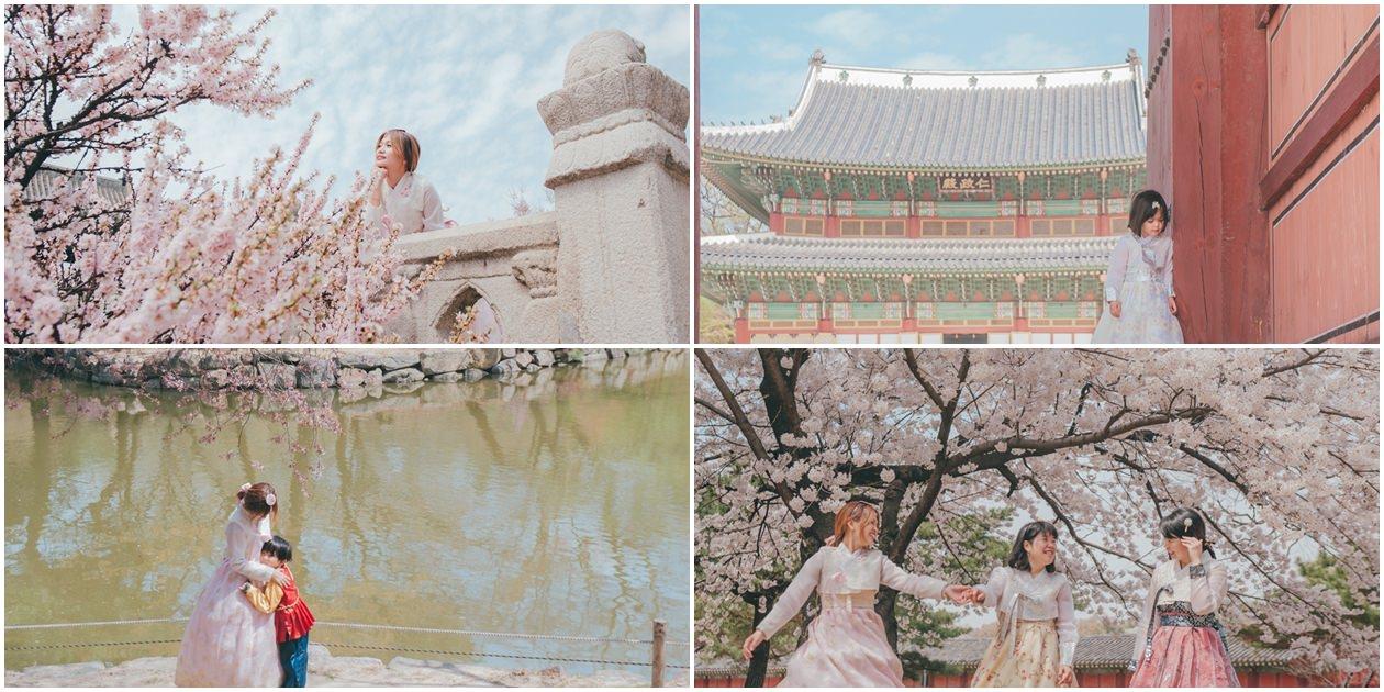 [韓服體驗]不是公主與王子也要這樣玩穿越。外拍一定要去的昌慶宮、昌德宮,人少好好拍!推薦外拍的台灣攝影師。InK.韓國攝影迷路趣。