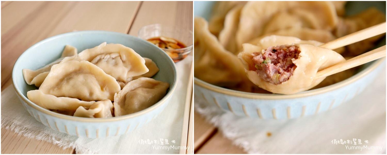 如此美味的❤高麗菜牛肉水餃 V.S 自製餃子皮❤讓我天天思念~
