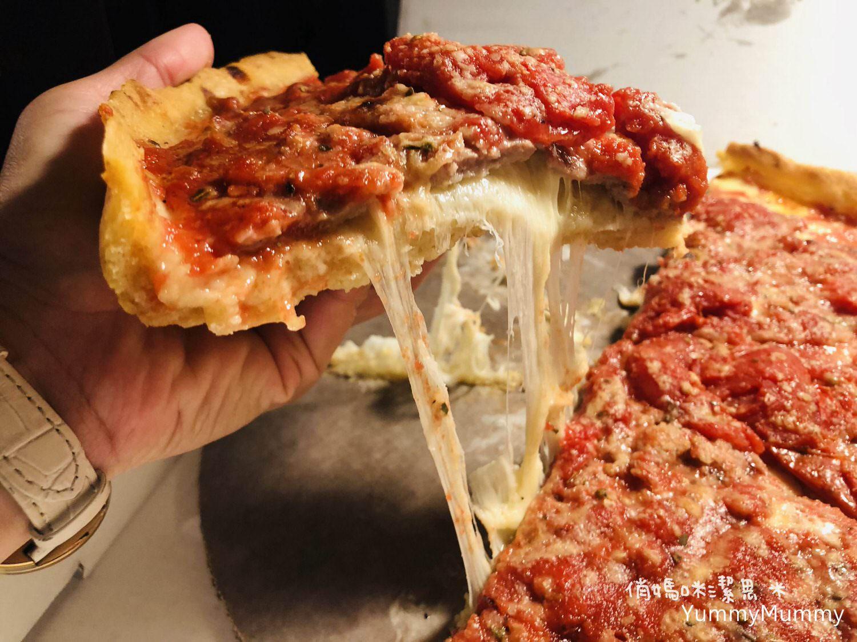 【美國。芝加哥】必吃美食。深盤披薩Deep DIsh。熱狗。牛肉三明治!!!