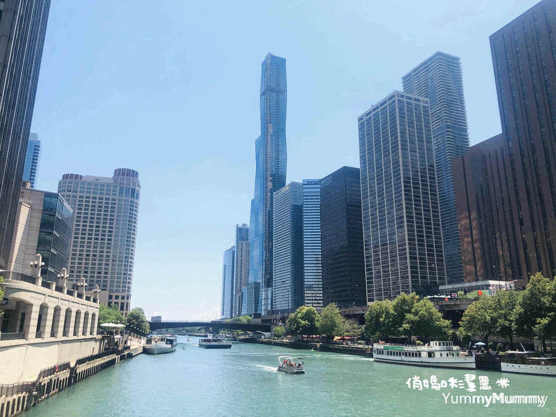 【美國。芝加哥】全美第二的摩天大樓。耀眼天際線。必去景點推薦!!!