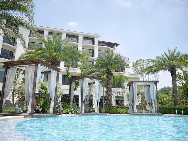 【玩。飯店】親子暑期度假推薦。熱帶海島風X桃園大溪笠復威斯汀度假酒店