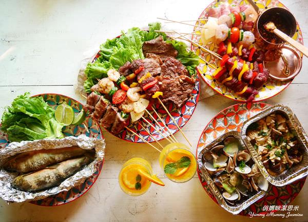 [中秋特輯❤烤肉醃醬X烤肉料理]美好藏在細節中的手繪餐瓷Pols Potten拼花餐盤系列(3)