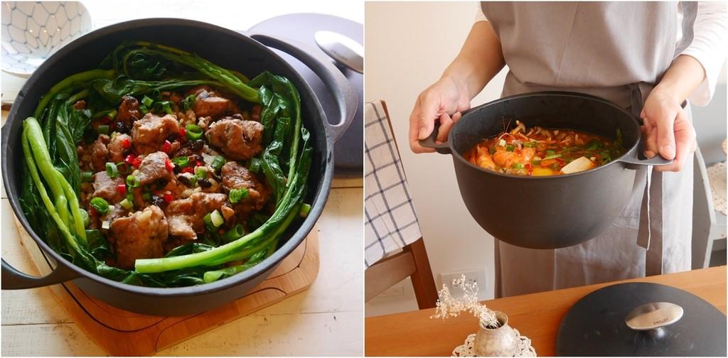 [好品味。日式貴婦鍋具]美味❤豉汁排骨飯❤與令人驚豔的UNILLOY世界極輕琺瑯鑄鐵鍋