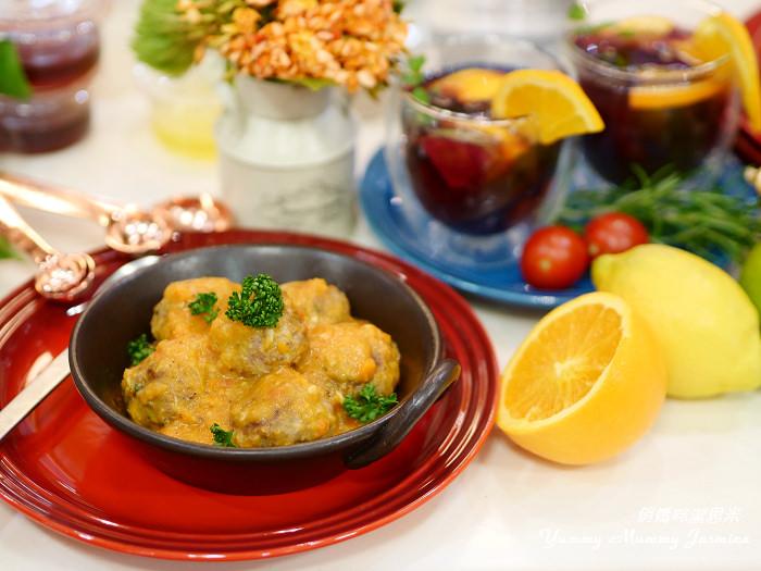 HENGSTYLE恆隆行玩味廚房。西班牙番茄肉丸子X桑格莉亞水果酒❤用對好餐廚X簡單做大廚❤我的首發示範料理初體驗