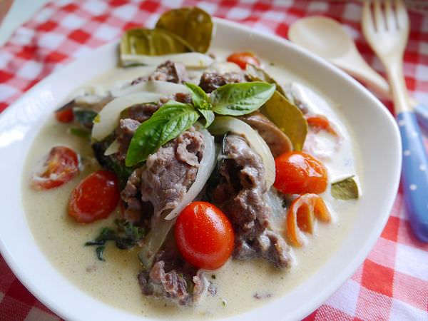 ☆∴潔思米上菜∴☆泰式綠咖哩椰汁牛肉