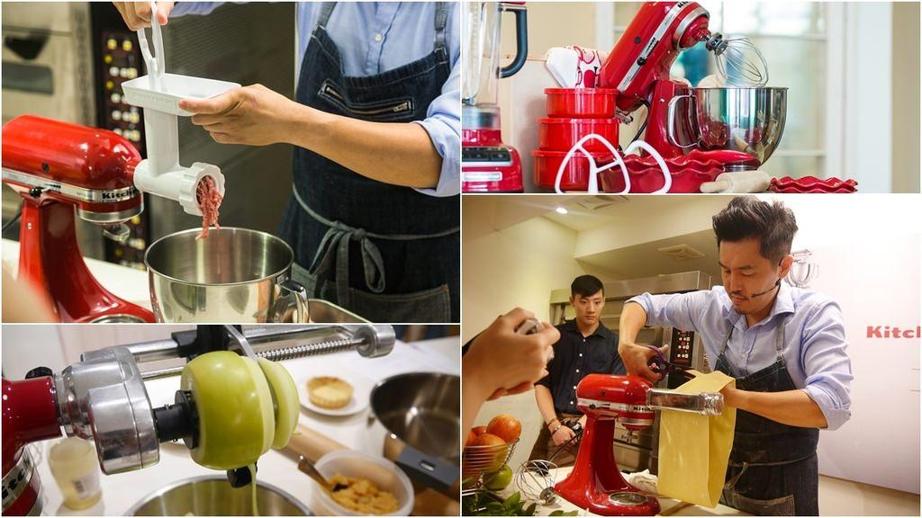 ❤KitchenAid攪拌機❤不只是打蛋白與烘焙用品!!!一起體驗各項令人驚艷功能吧!