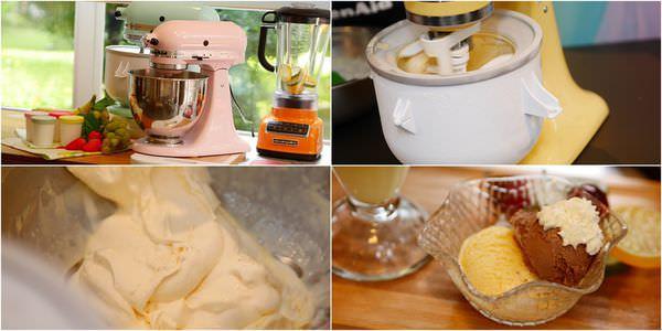 夏天我就是要自己做冰淇淋用我最愛的❤KitchenAid攪拌機冰淇淋組❤