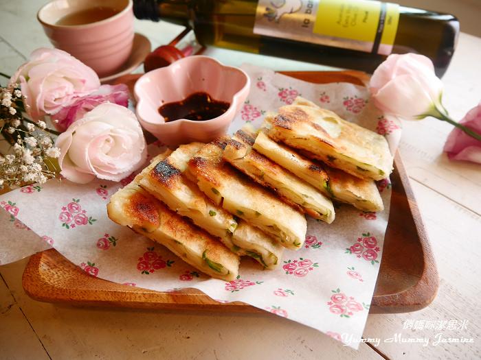 第一次手做❤蔥油餅就成功!用橄欖油健康酥脆!❤La Barre樂霸特級初榨橄欖油❤(3)