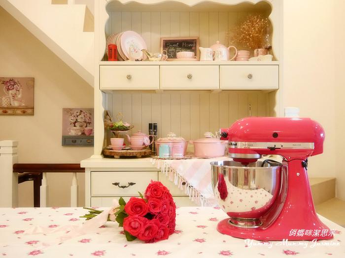 KitchenAid ❤抬頭式桌上型攪拌器X Stand mixer 5QT ❤莓果色。開箱嚕!!!