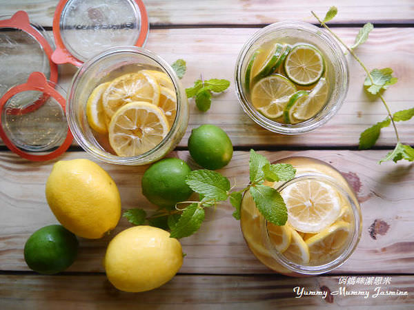 ❤夏日飲品❤蜜漬檸檬汁V.S蛋蜜汁。雙重享受輕涼一夏